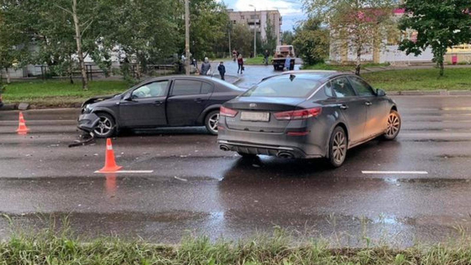 Ребёнок пострадал в ДТП в Вологде