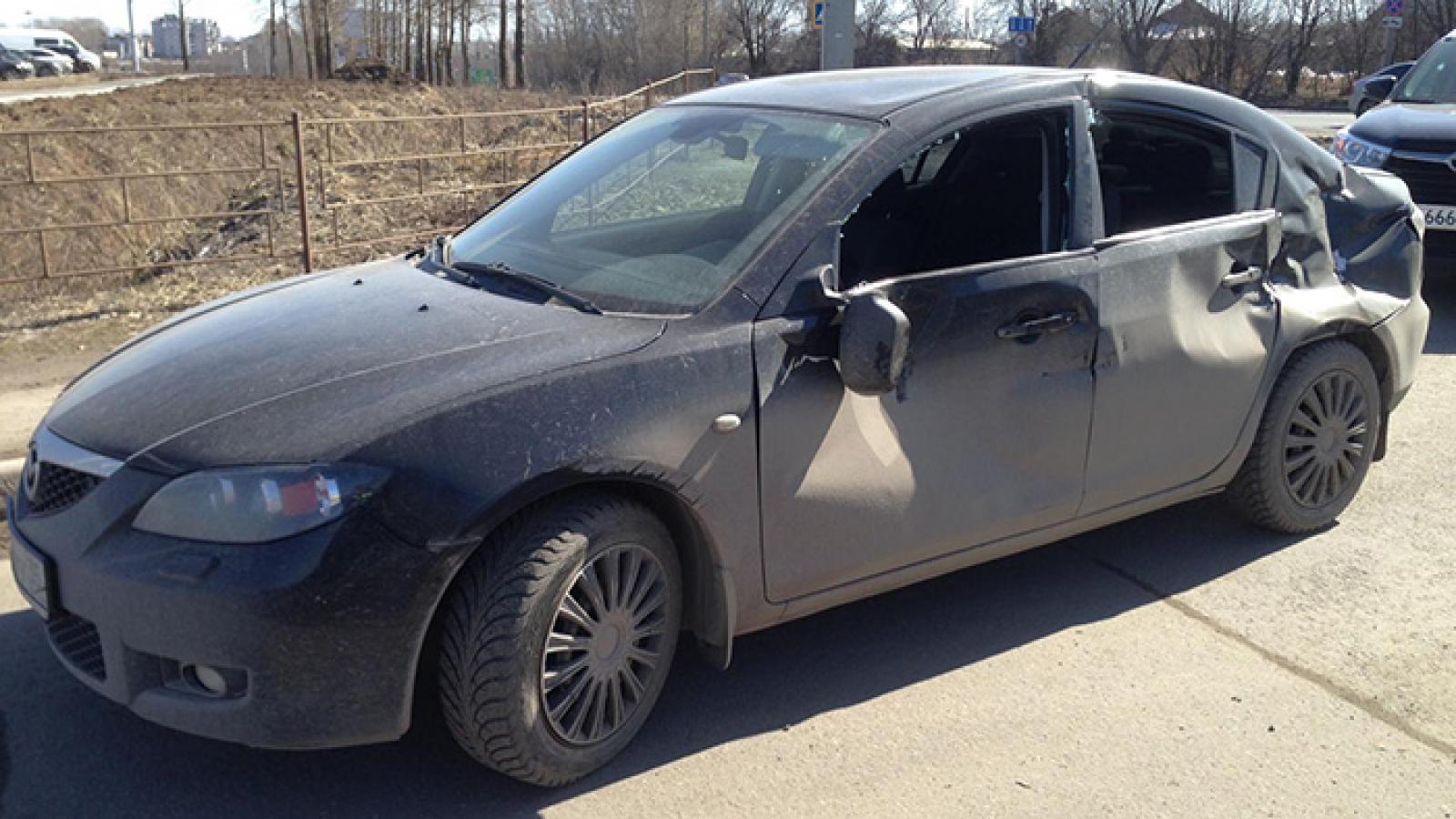 Вологжанка пострадала в крупной аварии с двумя грузовиками