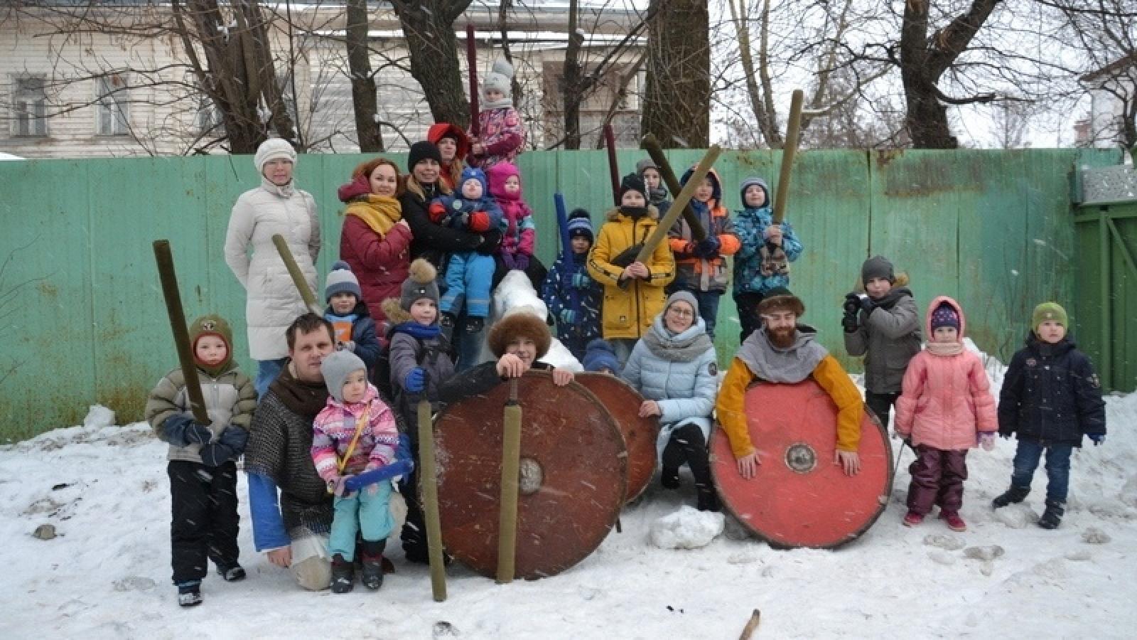 Историческая реконструкция прошла в Вологде