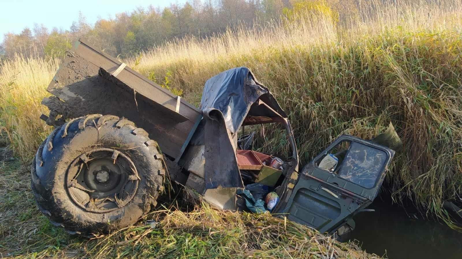 Водитель караката погиб под Тотьмой