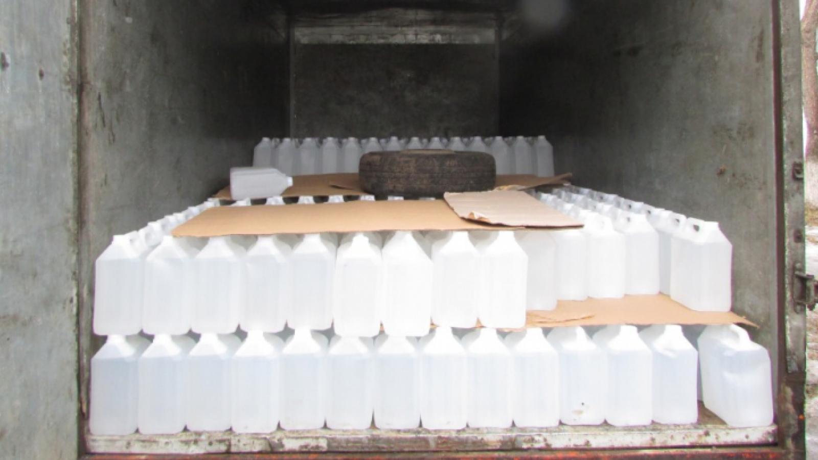 В Вологодском районе изъяли 750 канистр алкоголя