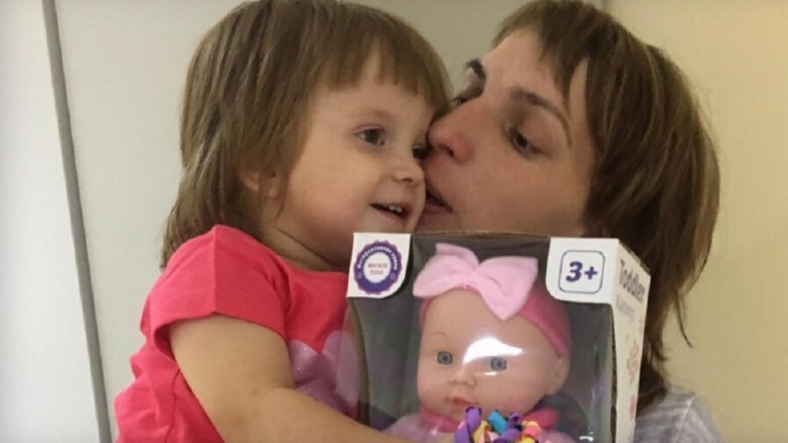 Мать навестила в больнице свою пропавшую дочь