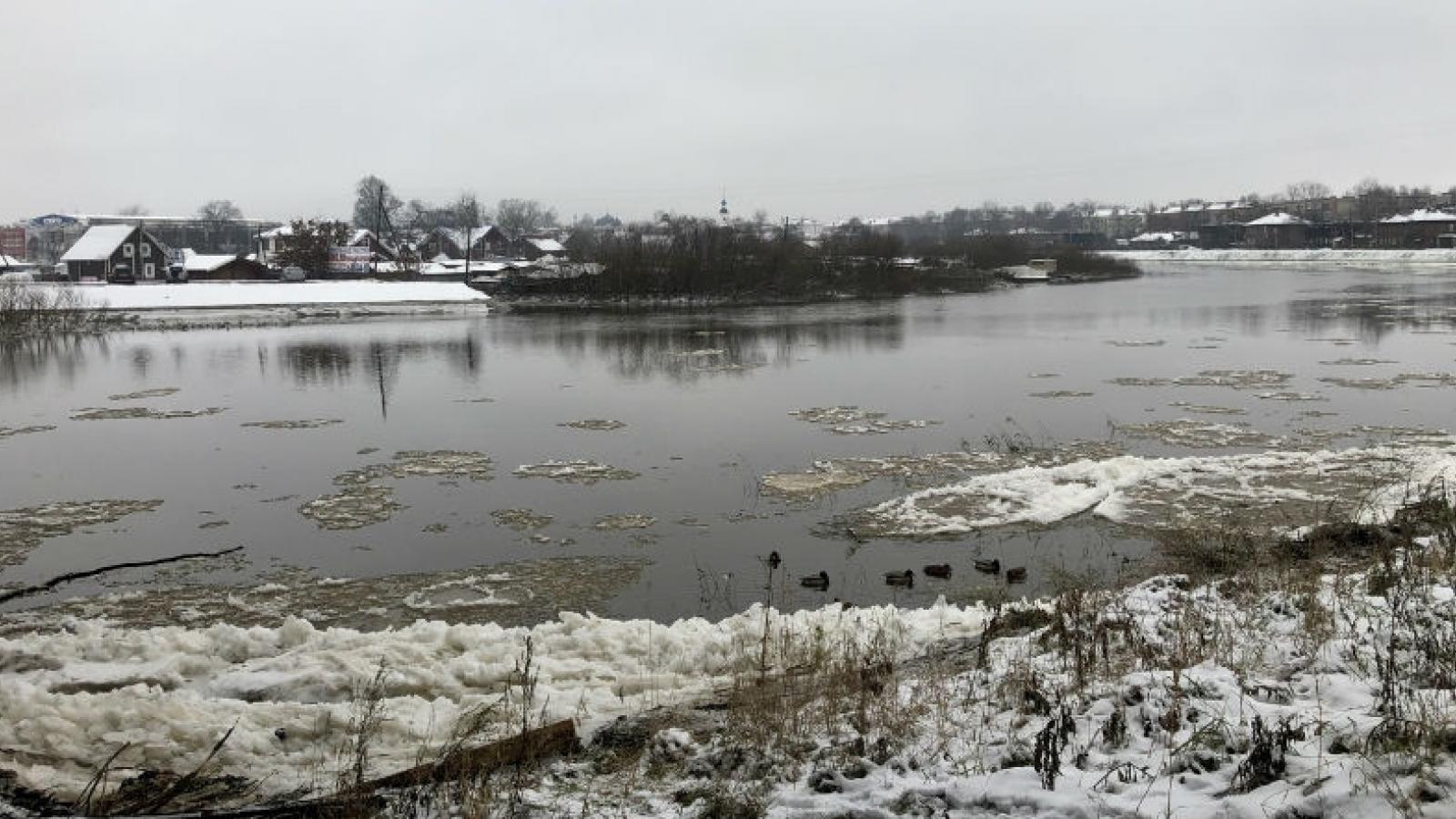Прогнозы синоптиков начинают сбываться: уровень воды в реках повышается