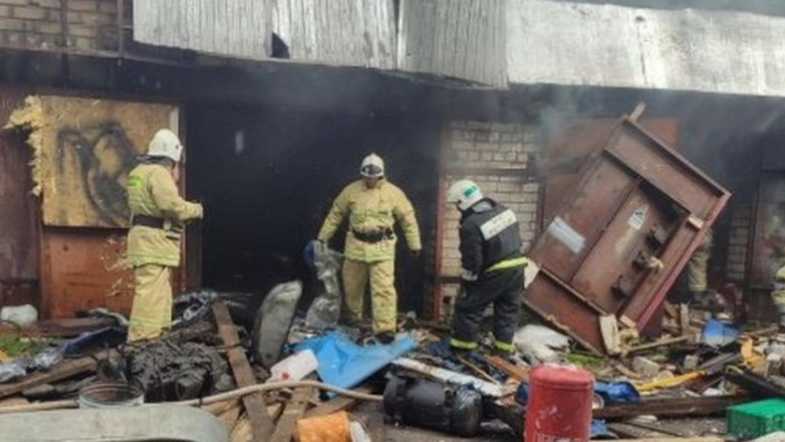 Взрыв газа в Череповце