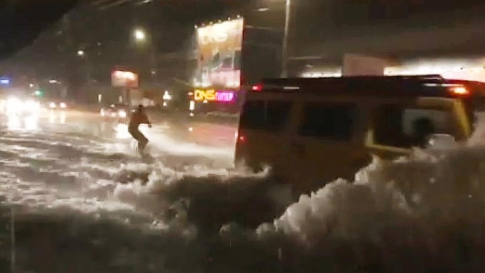 Вологжанина оштрафовали за шалость во время «потопа»