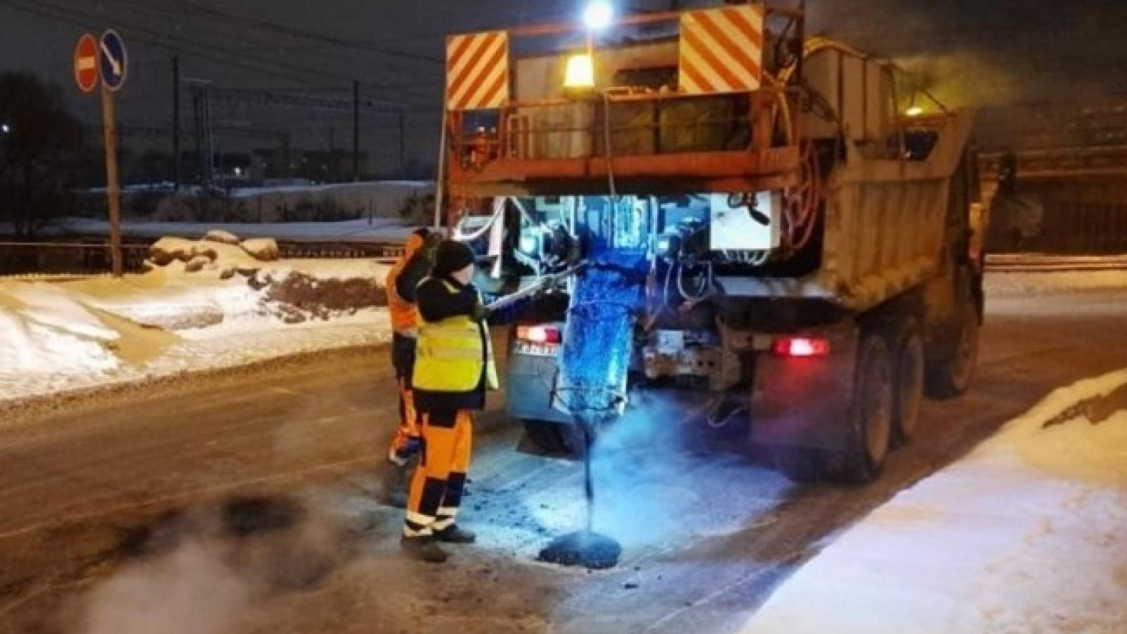 В Вологде начали ремонт дорог