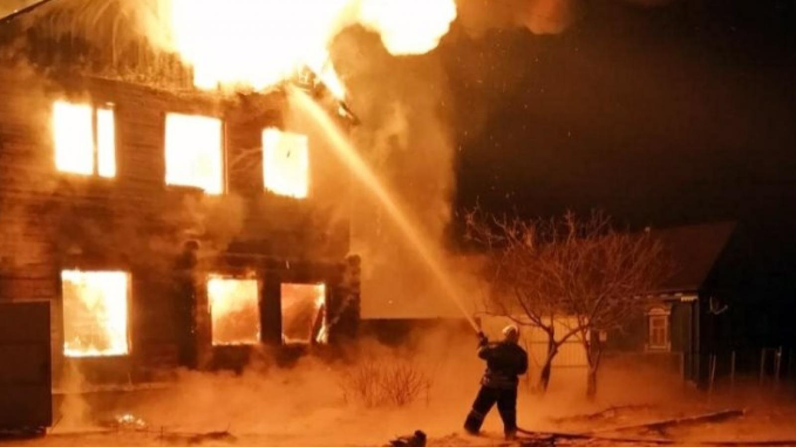Два дома горело в Вологде в выходные