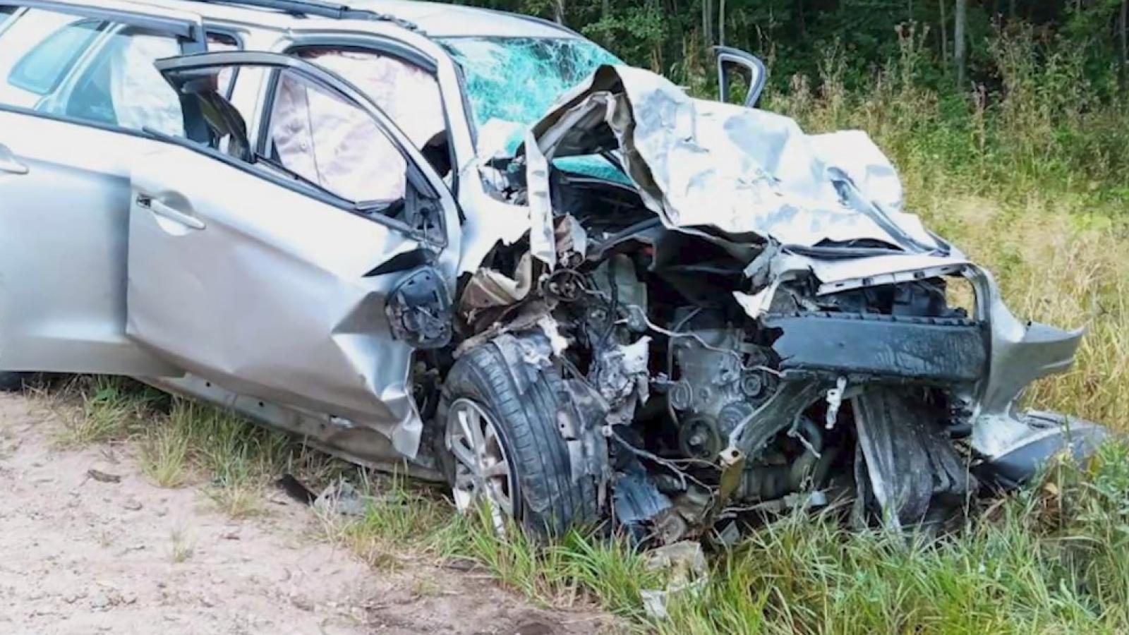 Главная причина аварий на трассах Вологодчины