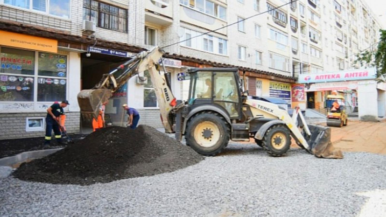26 дворов ремонтируют в Вологде