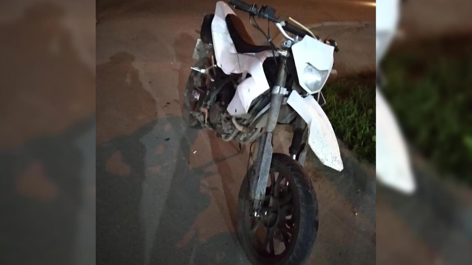 2 мотоциклиста сбили собаку и попали в больницу