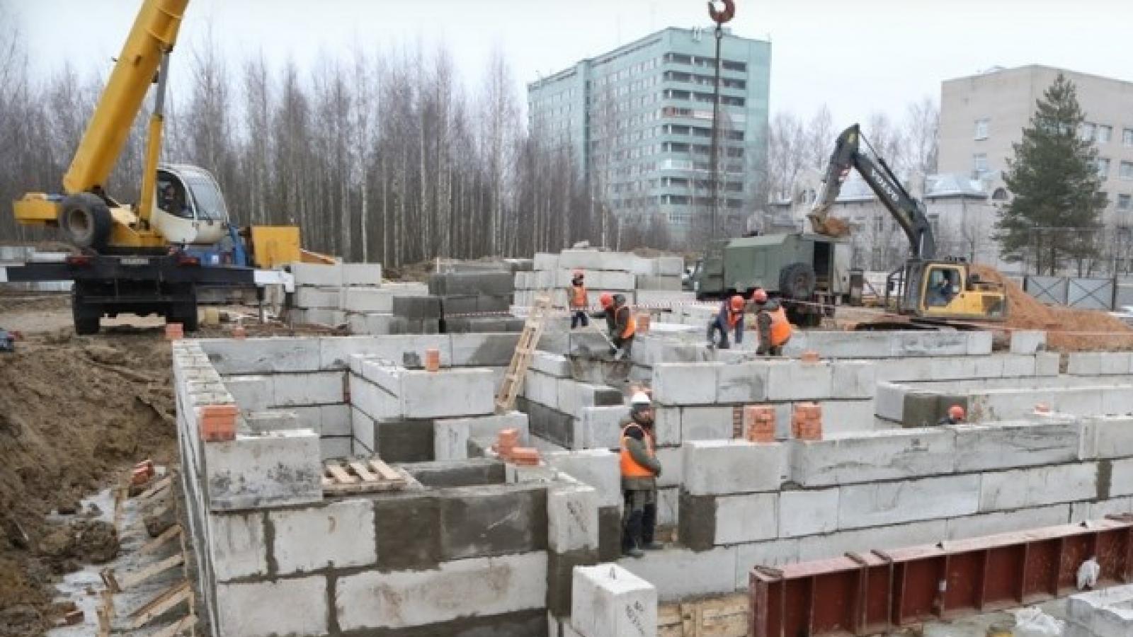 В Вологде строят перинатальный центр