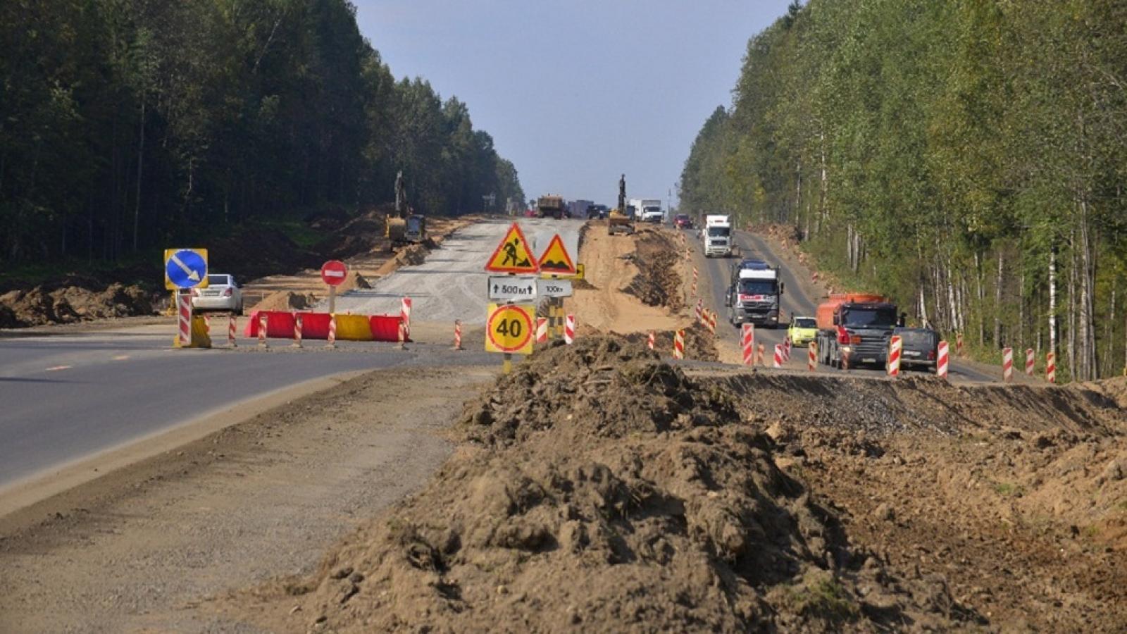 Участок дороги Вологда-Новая Ладога частично перекроют