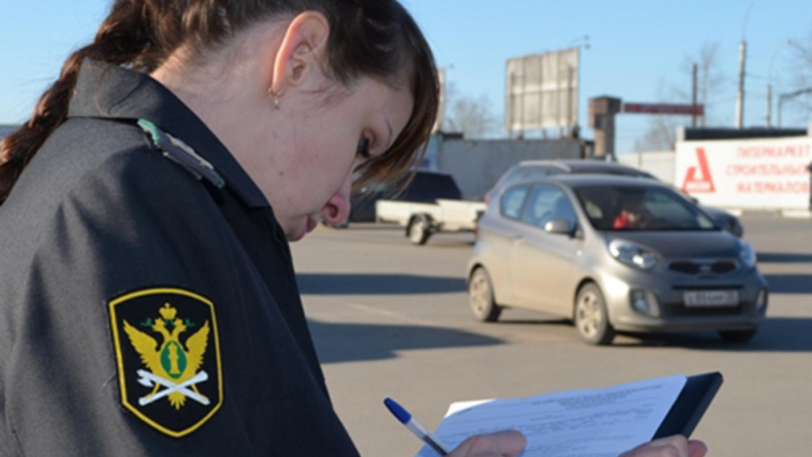 В Вологде приставы арестовали автомобили на 6 миллионов рублей