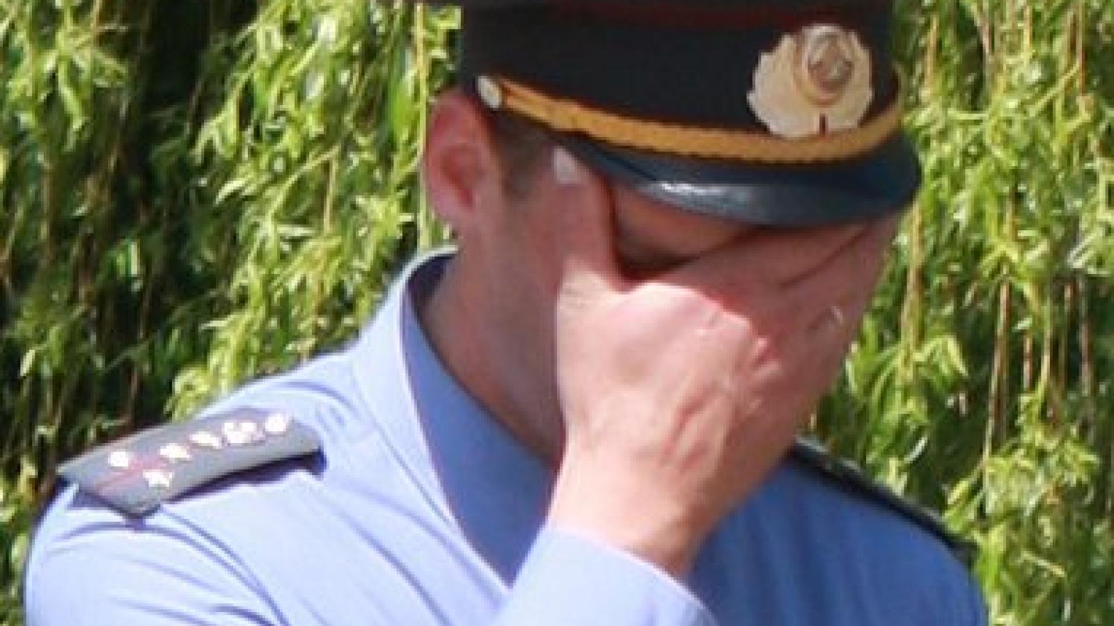 Пьяная вологжанка донимала полицейских
