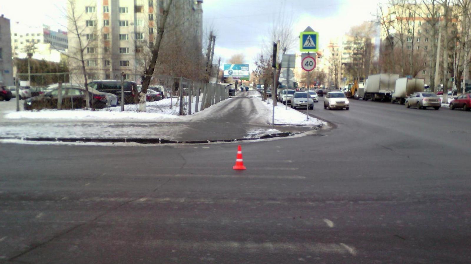 В центре Вологды сбили 10-летнюю школьницу
