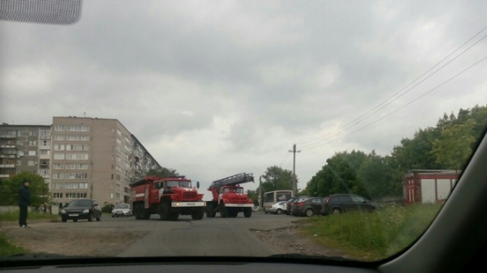 30 человек эвакуировали из череповецкого санатория из-за пожара