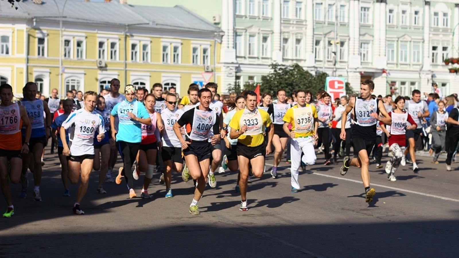 Во Всероссийский день бега вологжане примут участие в «Кроссе нации»