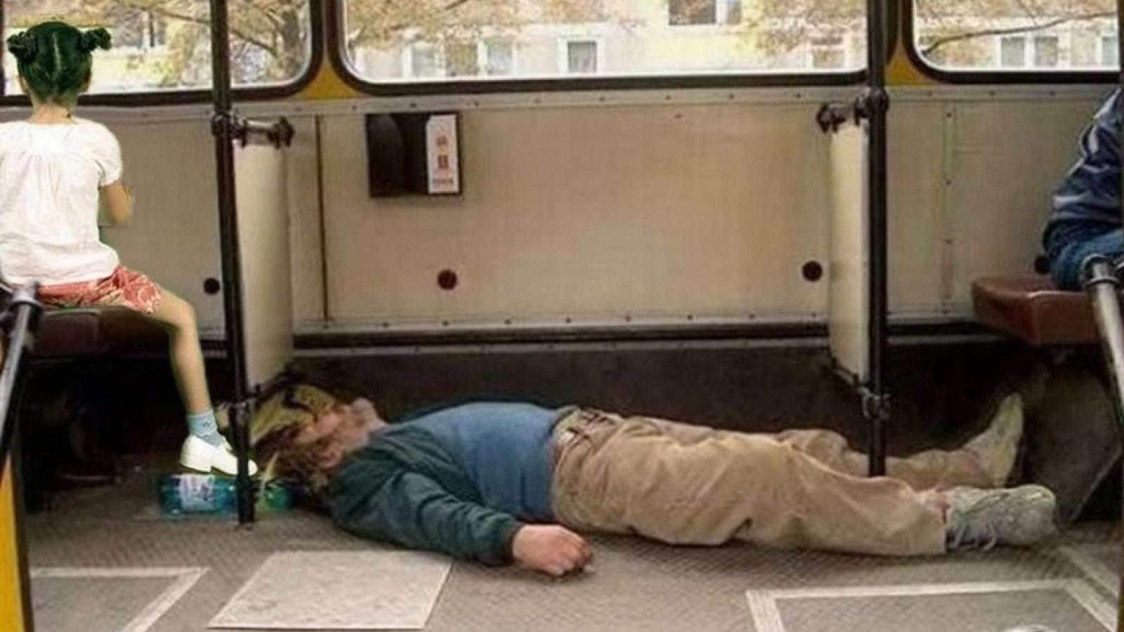 Пьяный череповчанин получил травму в автобусе