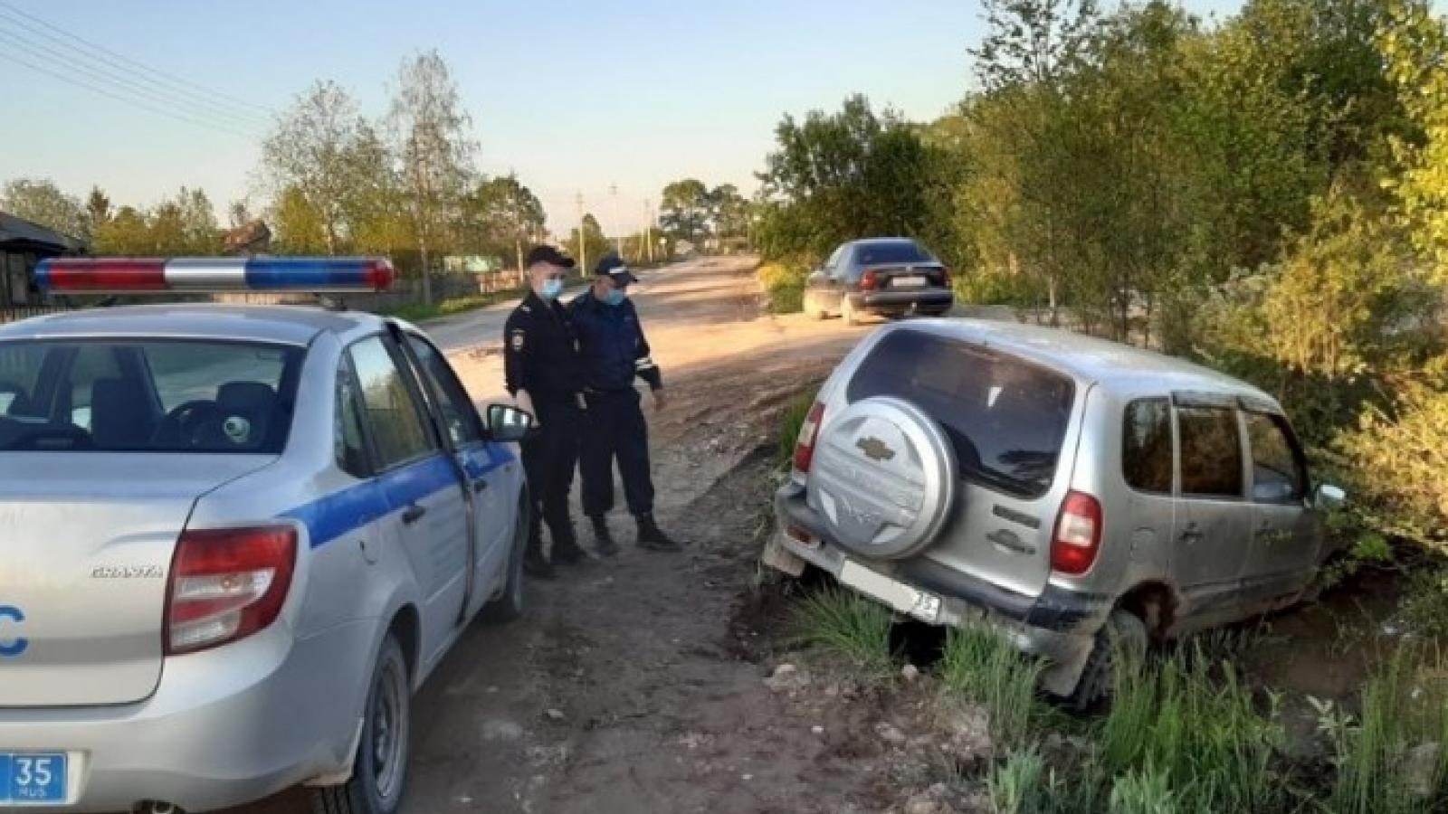 Погоня со стрельбой прошла в Вожегодском районе