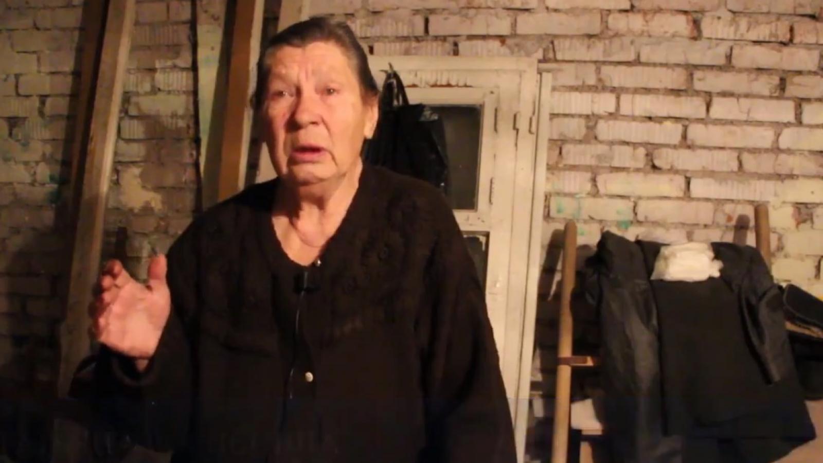Пенсионерка живёт в подвале
