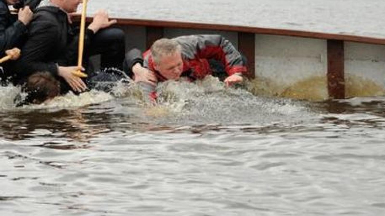 На Сухоне столкнулись две лодки
