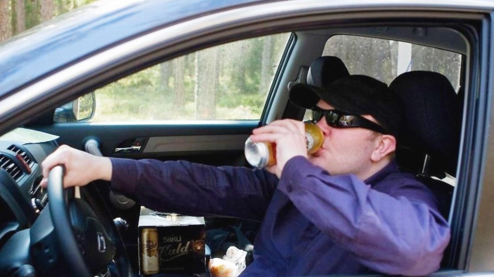 За пьяное вождение оштрафуют на огромную сумму