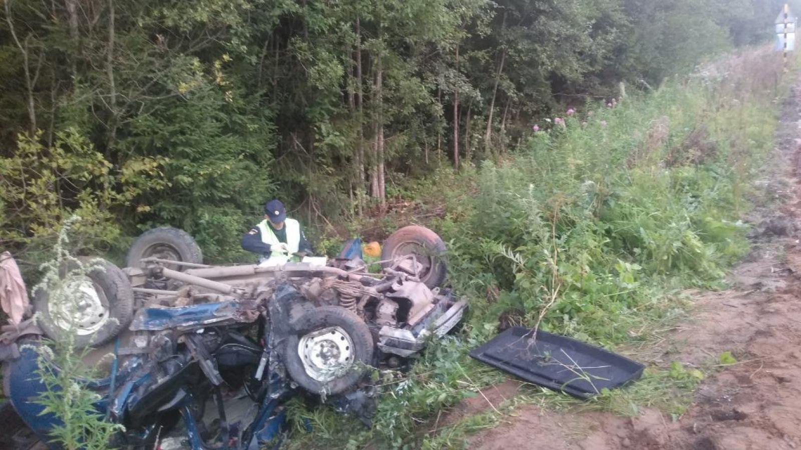 Двое водителей погибли в ДТП под Вологдой