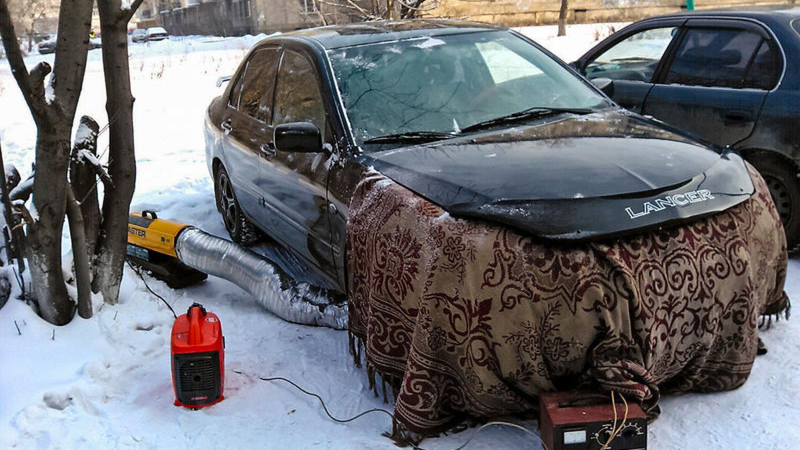 Как прогревать двигатель зимой?