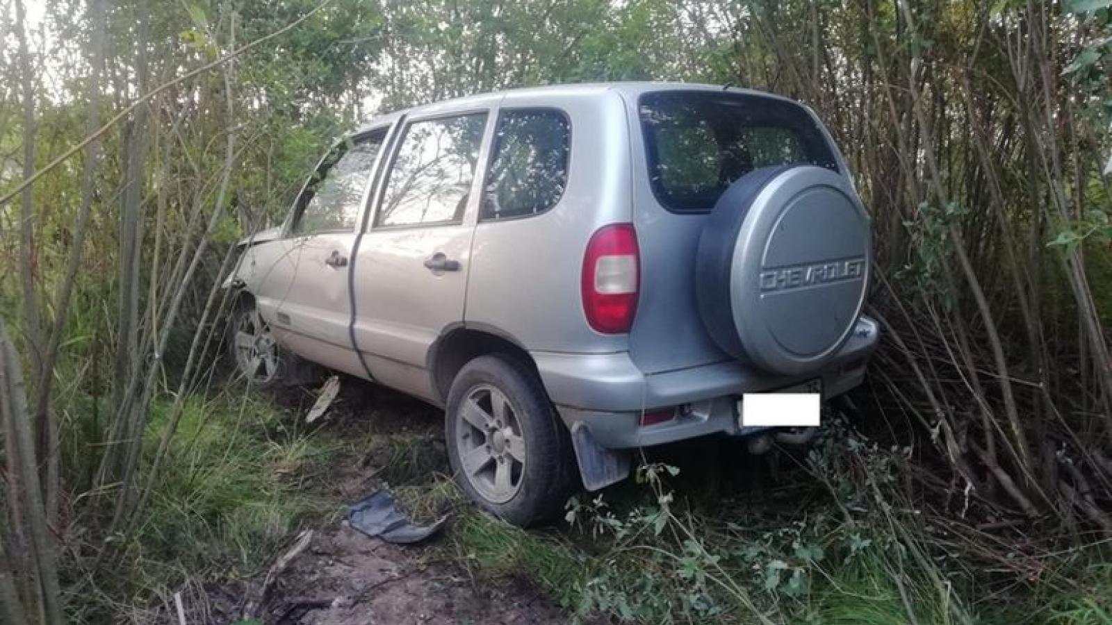Водитель «Нивы» умер за рулём
