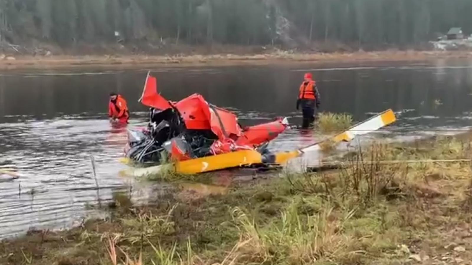 Люди из упавшего вертолёта могли выжить?