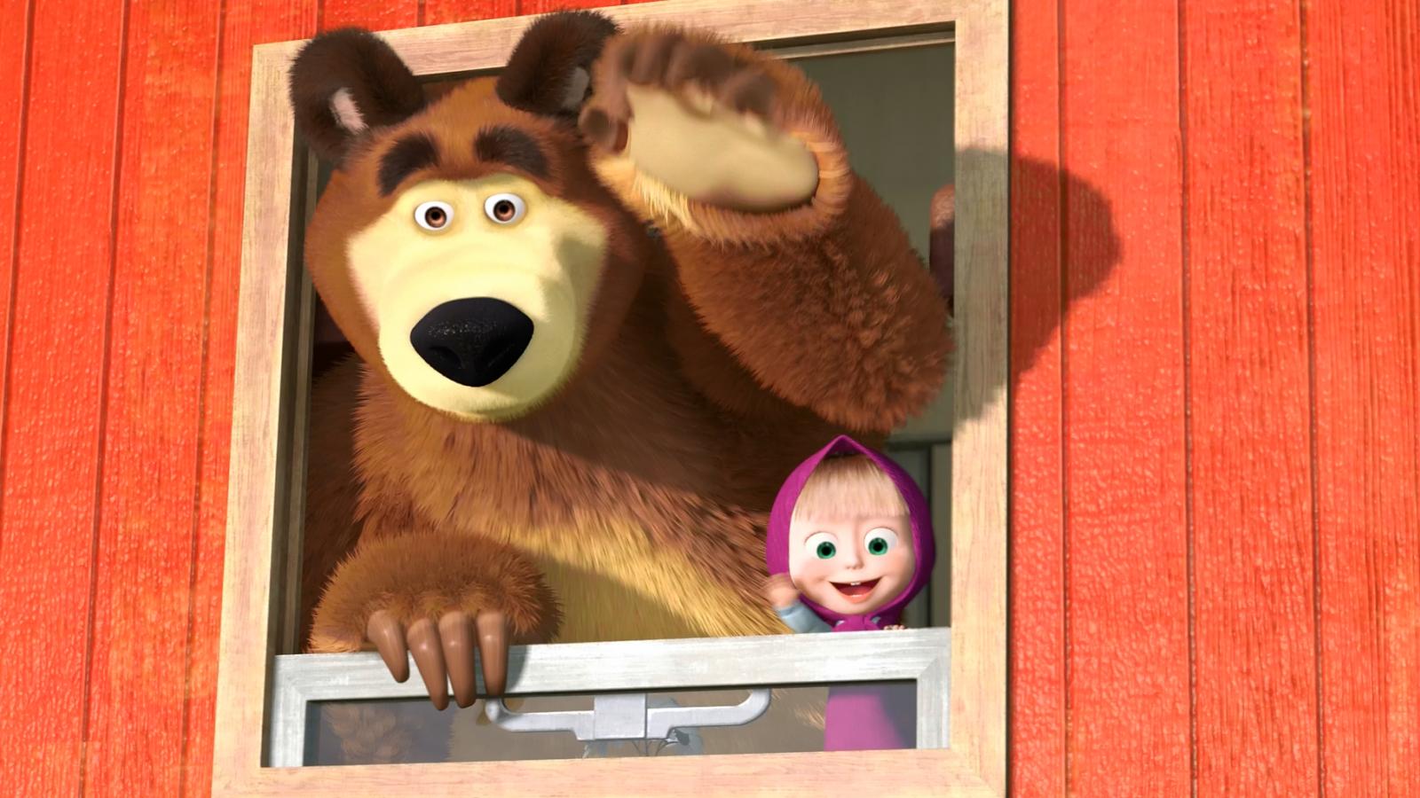 маша и медведь на поезде картинки словами, мелкашка