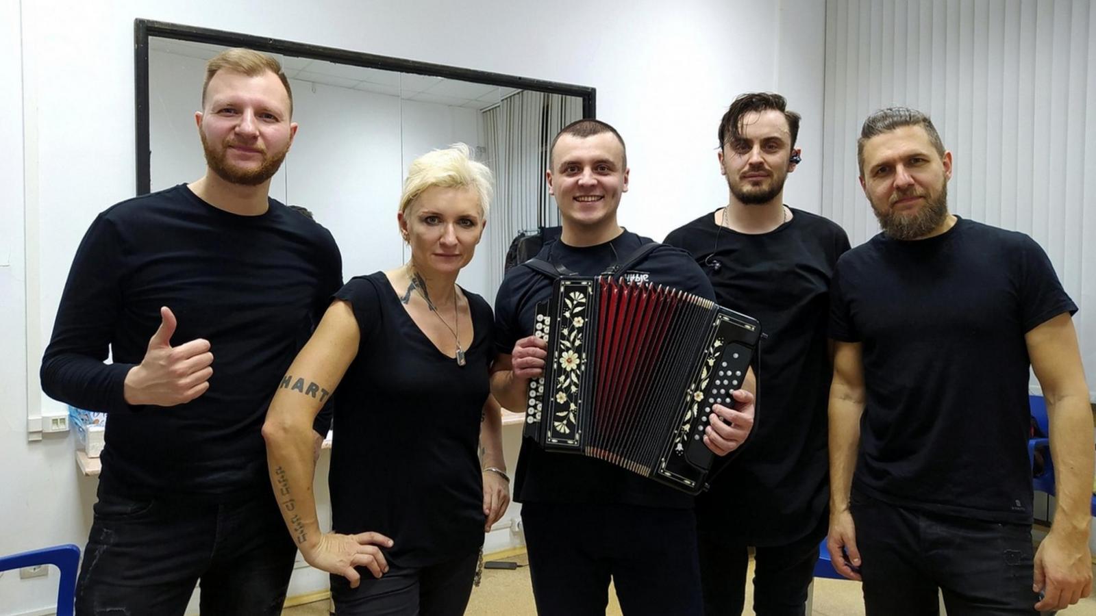 Вологжанин выступил на концерте Дианы Арбениной