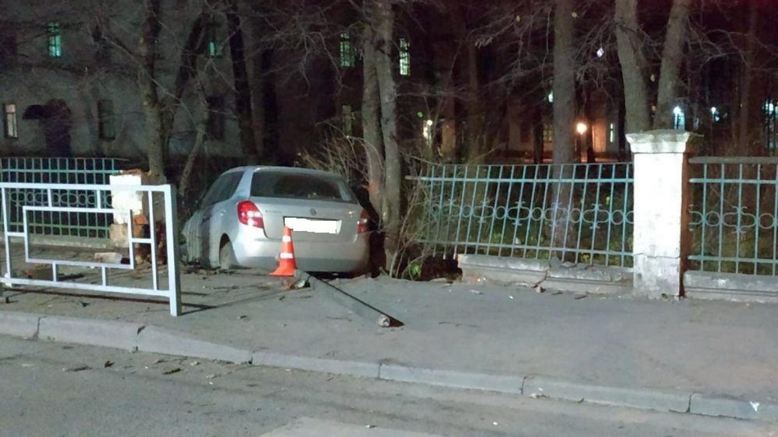 Пьяный вологжанин пробил забор роддома