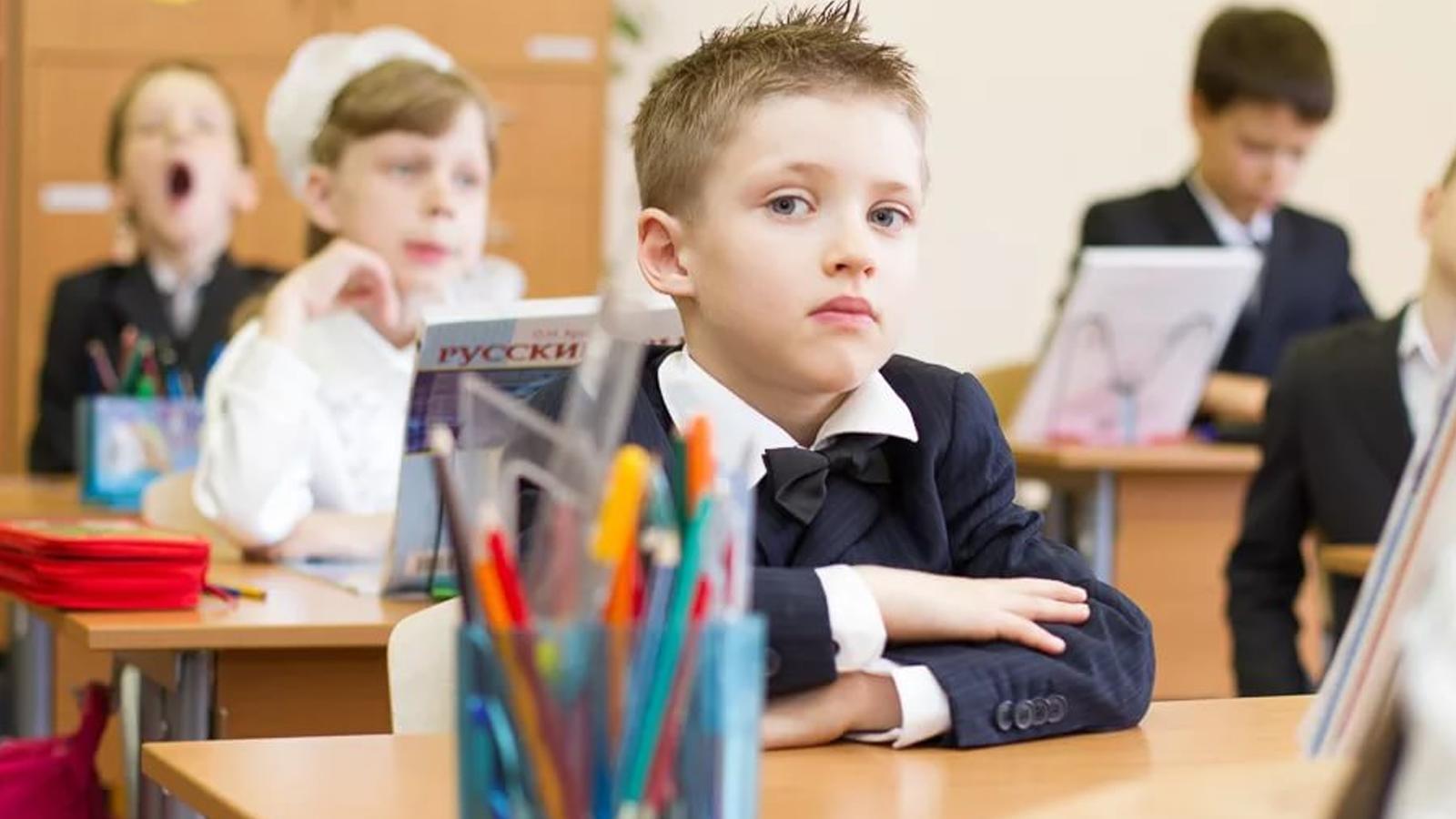 7-8 класс дети в школе фото