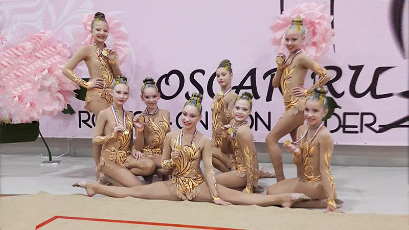 Вологжанки завоевали «золото» на турнире по эстетической гимнастике «Оскар»