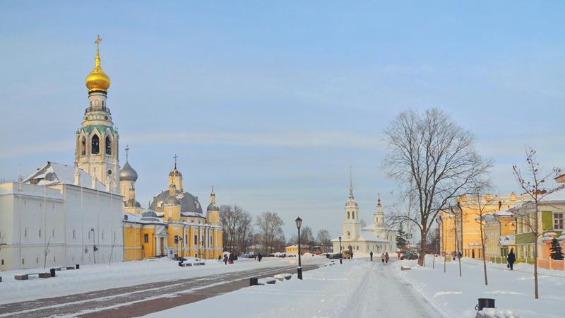 Выходные в Вологде предстоят снежные и теплые