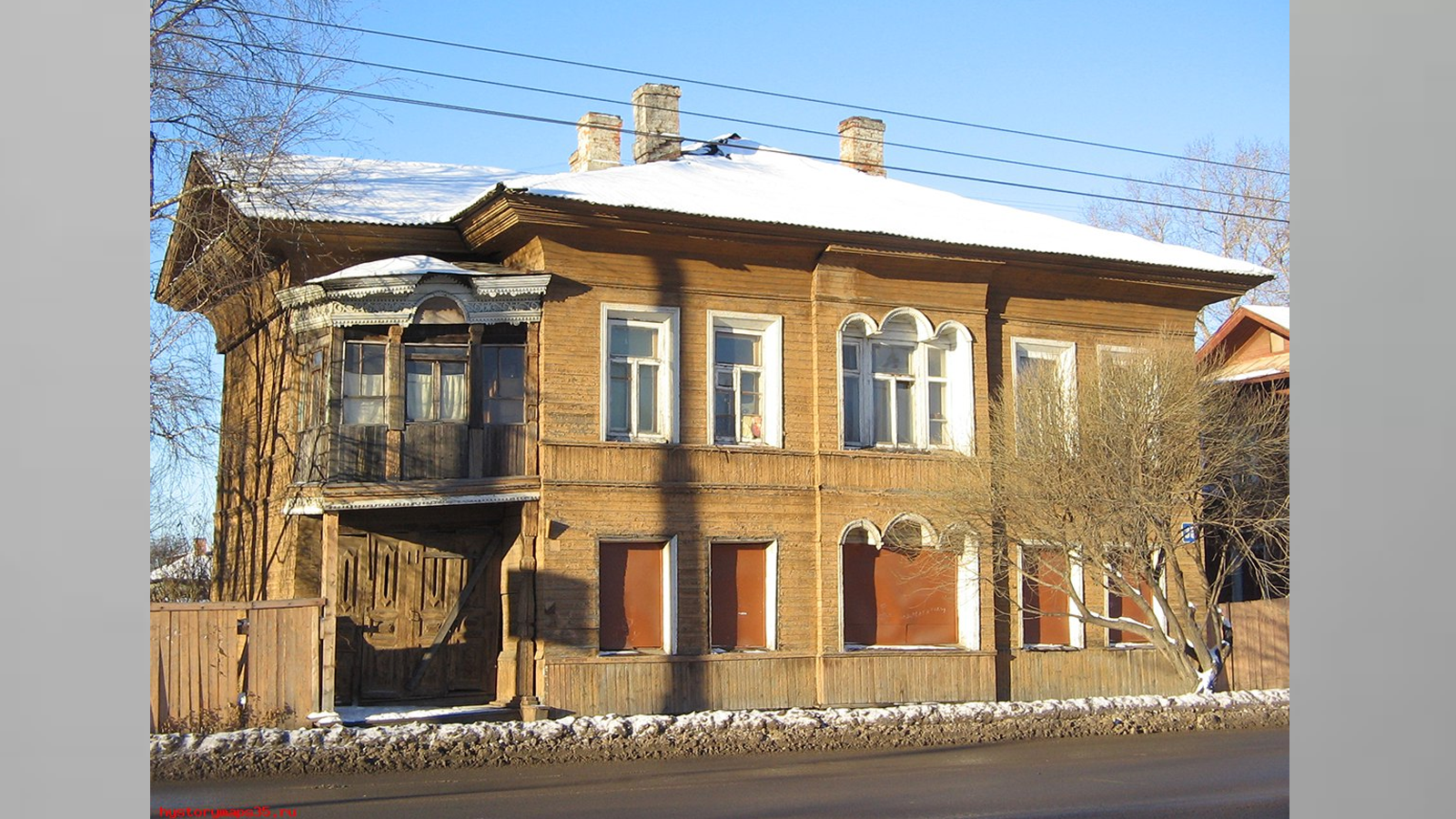 В Вологде незаконно снесли дом конца XIX - начала XX века