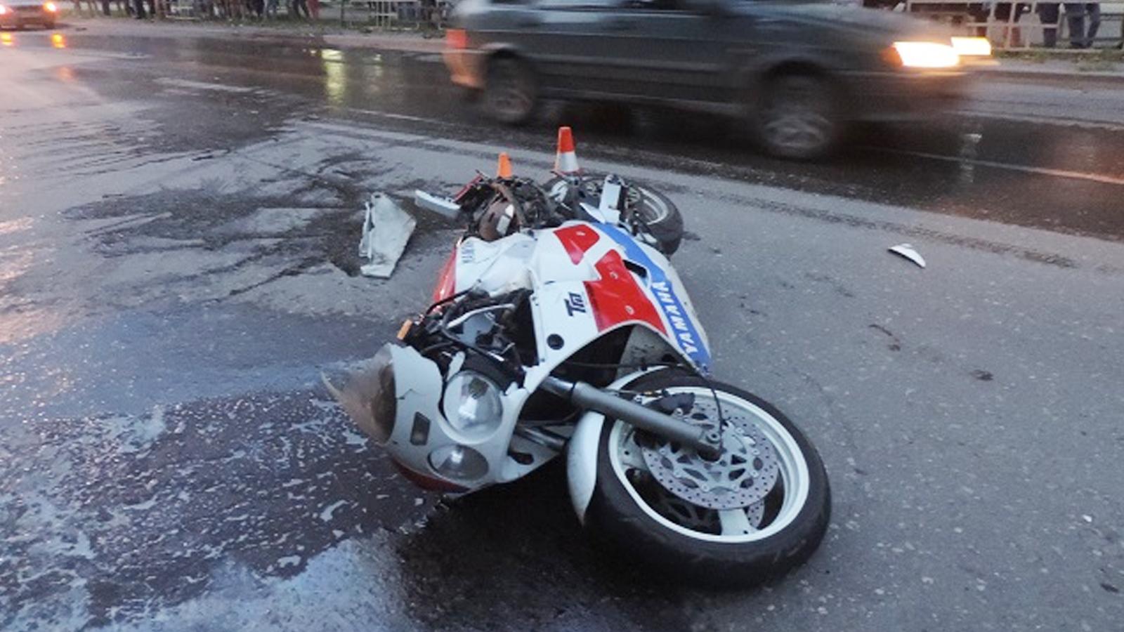 26-летний мотоциклист погиб в ДТП в Соколе