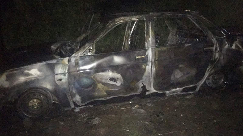 Из-за попавшей в гнездо прикуривателя монеты в Вологде сгорела легковушка