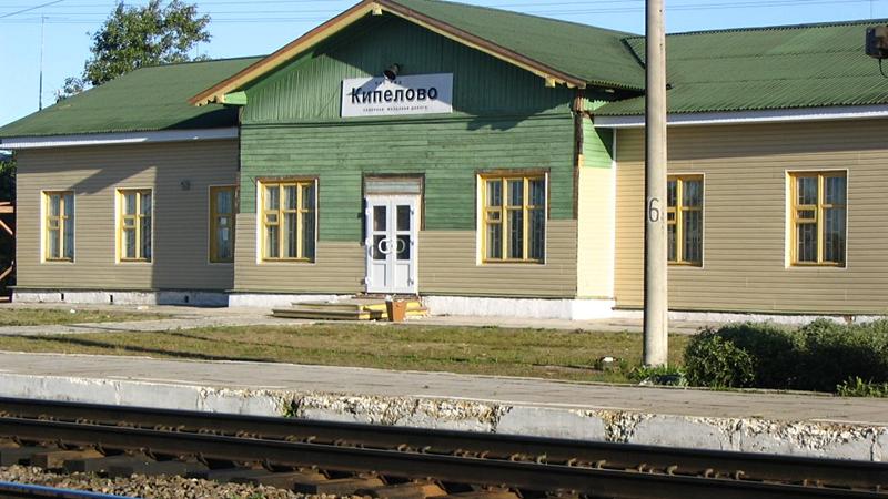 На железнодорожной станции Кипелово исчезли рельсы