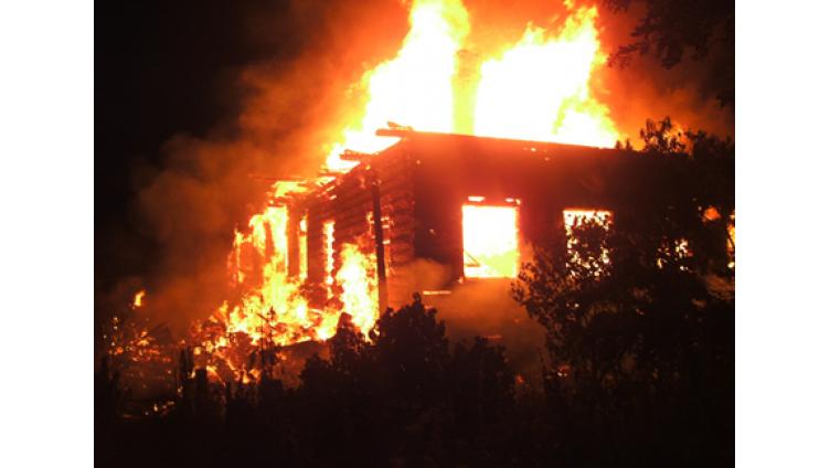 Мужчина погиб на пожаре в Вологодском районе