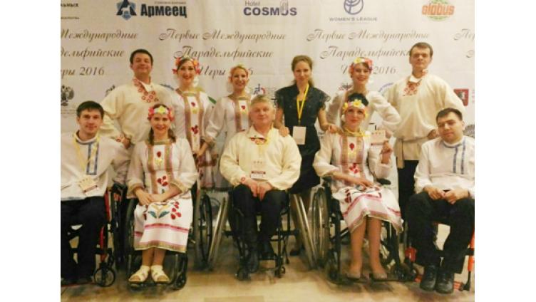 Вологжане приняли участие в Парадельфийских играх