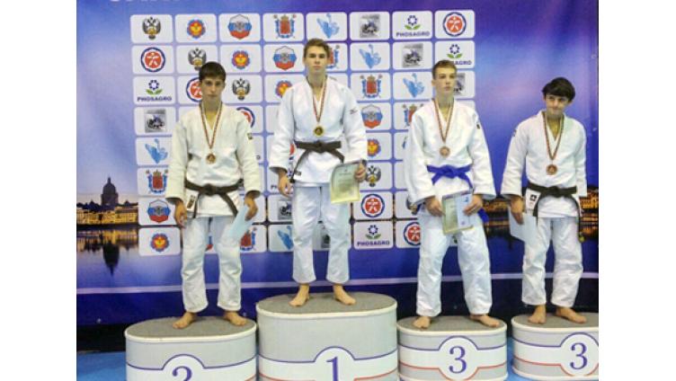 Череповчанин Павел Беляев завоевал «золото» на Всероссийском турнире по дзюдо