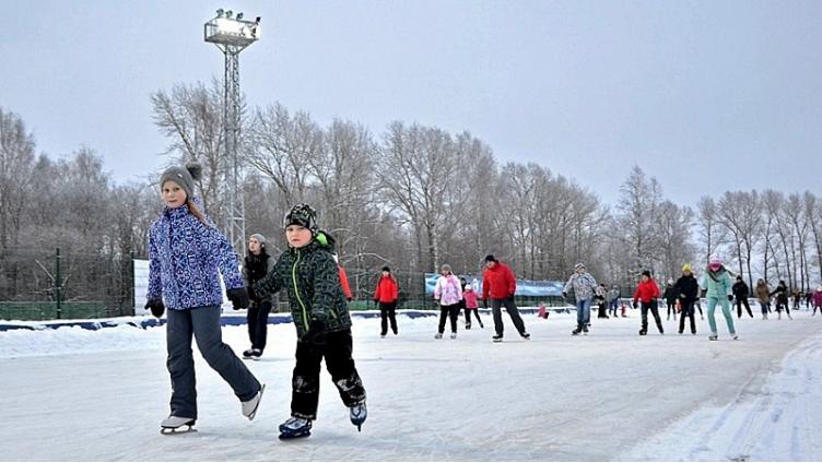 Покататься на коньках бесплатно можно будет 4 января