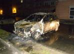 Внедорожник подожгли накануне в областной столице