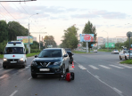 В областной столице под колеса автомобиля попала годовалая девочка на велосипеде