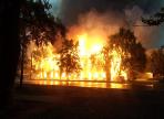 В Вологде подожгли деревянный двухэтажный дом – он сгорел дотла