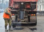 В Вологде провели ямочный ремонт дорог