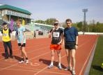 Вологжане завоевали серебряные медали на Первенстве России по легкой атлетике спорта слепых