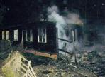 В Прилуках сгорел расселенный дом
